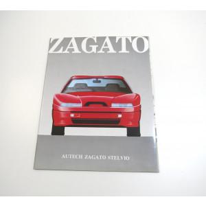 DEPLIANT AUTECH ZAGATO STELVIO